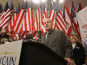 Joe The Plumber is hitting the trail with John McCain.