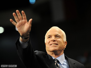 McCain's campaign is spending to reach voters in his home state of Arizona.
