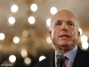  McCain is losing his lead in certain key states.