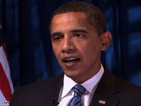Sen. Barack Obama in an interview Friday with CNN&#039;s Wolf Blitzer.