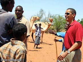 Sen. Obama visited Kenya, his father&#039;s birthplace, in 2006. The Associated Press has reported that a paternal aunt of Obama&#039;s is living in the U.S. illegally.