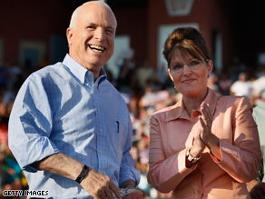 McCain and Palin are set for a final campaign blitz.
