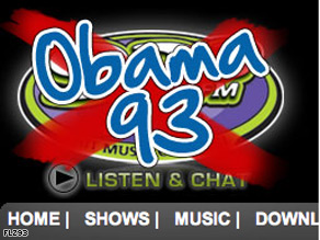 FLZ 93 renamed itself 'Obama 93' as Floridians cast their votes Tuesday.