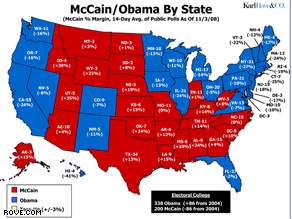 Karl Rove's Electoral prediction