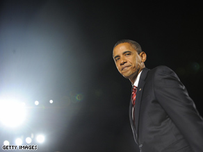 Before stepping on stage Tuesday night to address his supporters; the nation; and to a certain extent, the world, Sen. Barack Obama took a moment to pray with a conservative evangelical pastor.