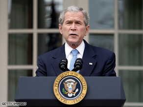 President Bush said Wednesday President-elect Barack Obama can count on 'complete cooperation'.