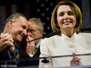 House Speaker Nancy Pelosi said Obama&#039;s election is a clear message Americans are ready for change.