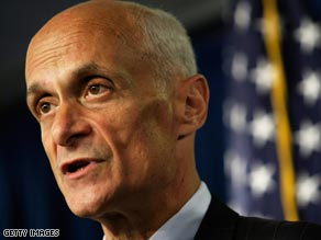 Chertoff urges Americans to remain alert.