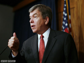 Rep Roy Blunt will not keep his leadership post.