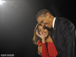 President-elect Obama told reporters Friday that his eldest daughter, Malia, has allergies which might preclude the family from adopting a shelter dog which would likely be a 'mutt' like Obama.