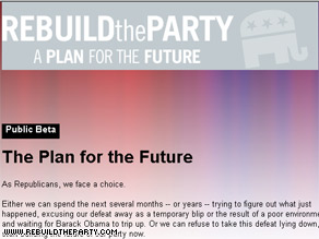 A group of young conservative online activists have published a plan to revive the GOP.
