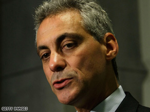 Rep. Rahm Emanuel says he will help Barack Obama work in a bipartisan way.