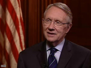 Harry Reid says it's up to the Democratic caucus to make any decision about Joe Lieberman's future.