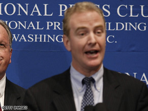 Rep. Chris Van Hollen will stay on as DCCC head through 2010.