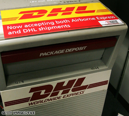 DHL cuts 9,500 U.S. jobs