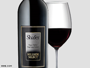 Shafer Cabernet “Hillside Select” 2003 can go for as much as $500 a bottle.