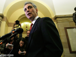  Emanuel met with Republicans on Capitol Hill Thursday.