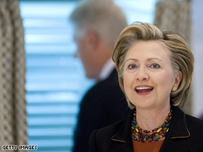 Clinton's looming exit to be Obama's secretary of state means a scramble for her old job.