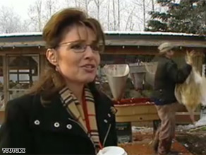 An interview Gov. Sarah Palin did Thursday is causing a stir.