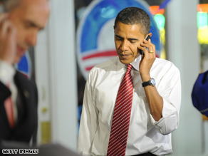  Obama&#039;s cell phone records appear to have been breached.
