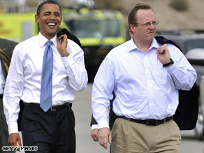  Barack Obama has named Robert Gibbs his press secretary.