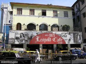 Cafe Leopold in Mumbai, India.