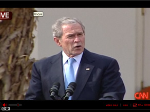 Bush is issuing his final Thanksgiving turkey pardons Wednesday.