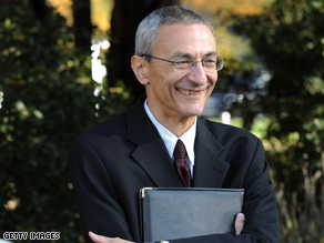 Podesta is heading up Obama's transition team.