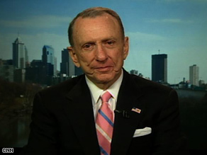 GOP Sen. Arlen Specter of Pennsylvania discusses the 2010 race on CNN's 'Late Edition.'