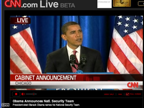 Watch Obama name his national security team on CNN.com/live.