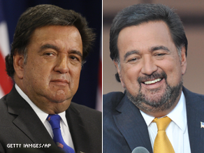 The latest debate in Washington: Does Richardson look better with or without a beard?