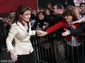 Poll suggests Gov. Sarah Palin is a 2012 presidential hopeful.