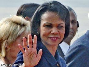 Secretary of State Condoleezza Rice says Iraq will be viewed as &#039;strategic achievement.&#039;