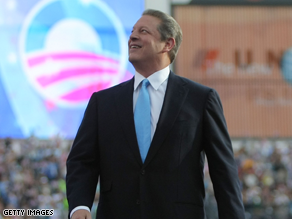 Gore criticized Cheney today in an interview with CNN.
