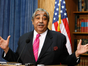 Rangel said he is not stepping down from his powerful chairmanship.
