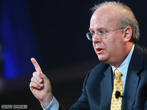 Prosecutors interviewed Karl Rove today inside his lawyer's office.