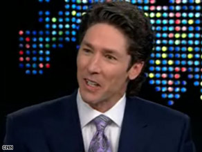 Osteen says he thinks Obama is 'great.'