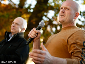 Joe 'The Plumber' Wurzelbacher said he was 'appalled' with some of what McCain said.