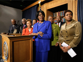 Congressional Black Caucus announced new leadership in November 2008.