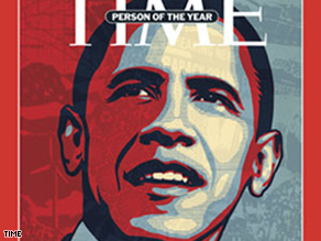 Time's person of the year is Barack Obama.