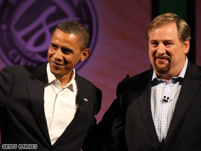 Rick Warren hosted a presidential forum in August.