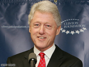 Former President Bill Clinton released the list of donors to his foundation.
