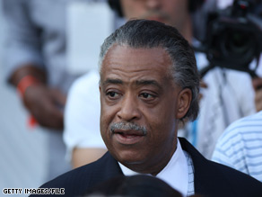 Caroline Kennedy had lunch Thursday in Harlem with activist Al Sharpton.