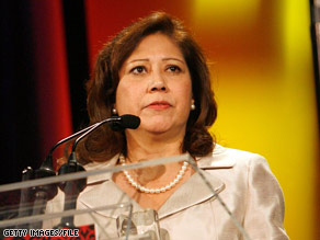 CNN has learned that Rep. Hilda Solis is President-elect Obama's choice for Secretary of Labor.