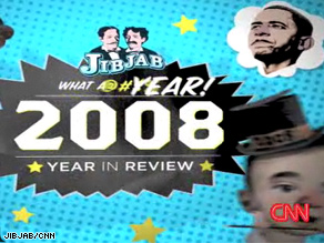 What does JibJab think of the year that was?