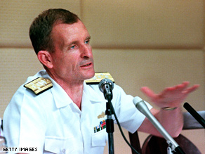 Dennis Blair is a former Navy admiral.