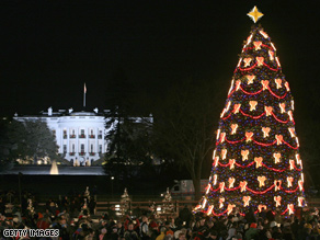 The White House is gung-ho about Christmas  so are 1 in 4 Americans.