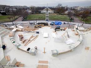 Inauguration preparation continues in Washington.