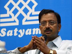 Satyam Chairman B. Ramalinga Raju