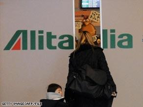 Alitalia was once a symbol of Italian economic success.